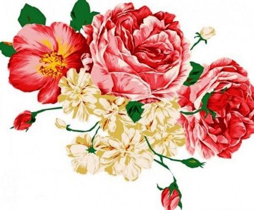 Vintage Roses Images Clipart