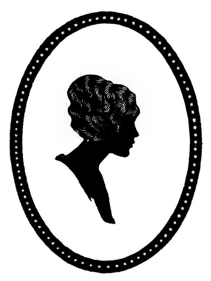 736x978 52 Best Vintage Silhouette Images Book Art