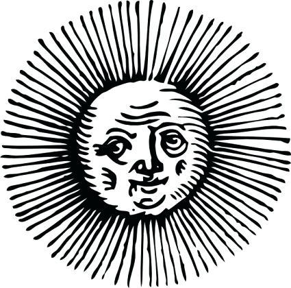 425x420 Sun Clipart Sun Silhouette Clip Art Pack Download Sun Vectors