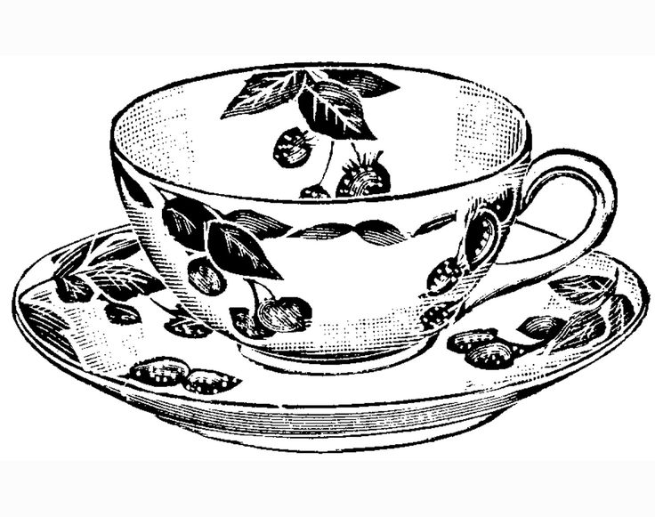 736x581 Best Tea Cup Drawing Ideas Cup Of Tea Drawing