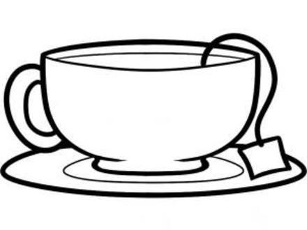 440x330 48 Tea Cup Sketch, Arts Stuff Sketch Of My Cup Of Tea