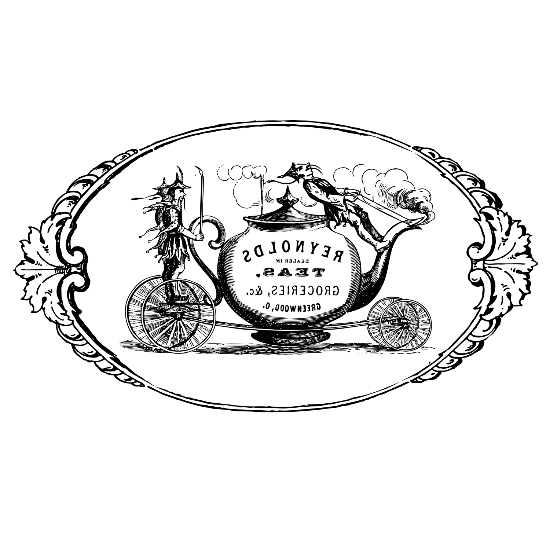 1500x1500 Free Printable Image Vintage Tea Merchant Advert