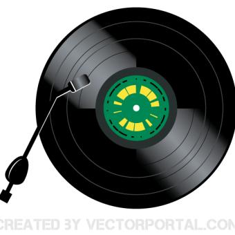 Vinyl Record Clipart