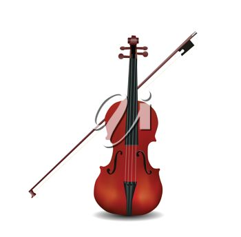 350x344 Picture Of A Cello And Bow In An Upright Position On A White