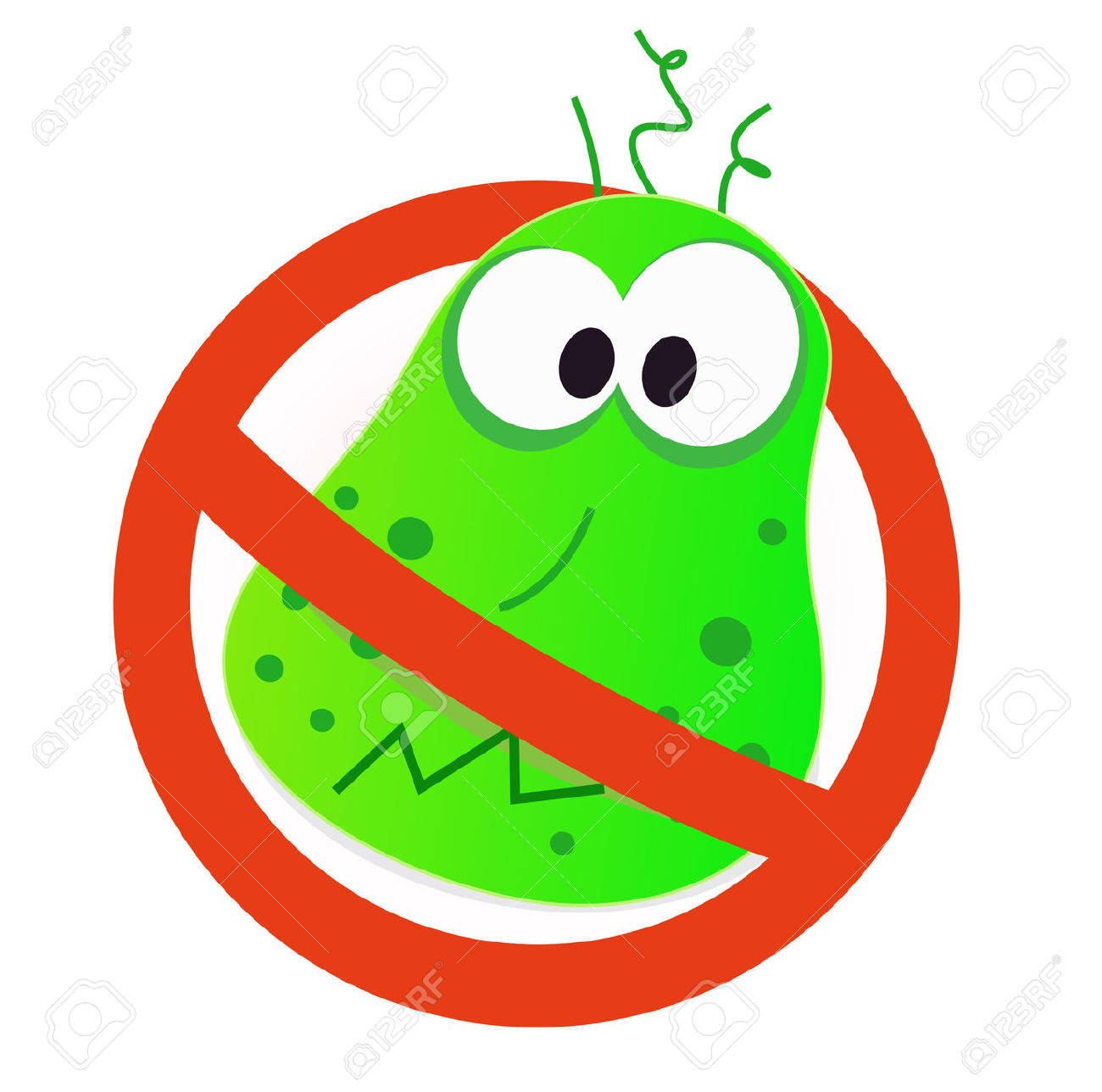 1300x1288 Bacteria Clipart Flu Virus