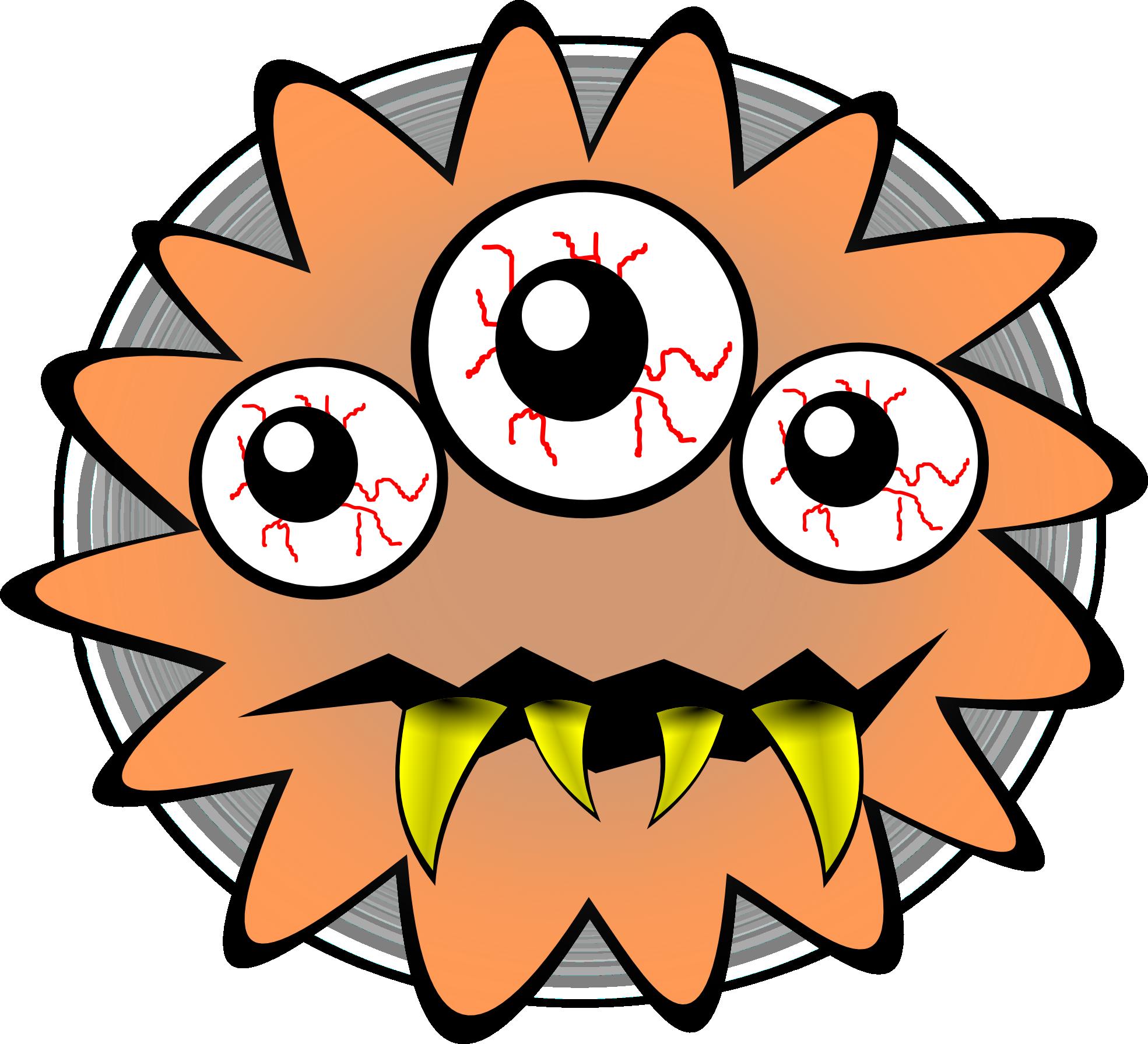 1969x1791 Modified Funny Bacteria Clip Art