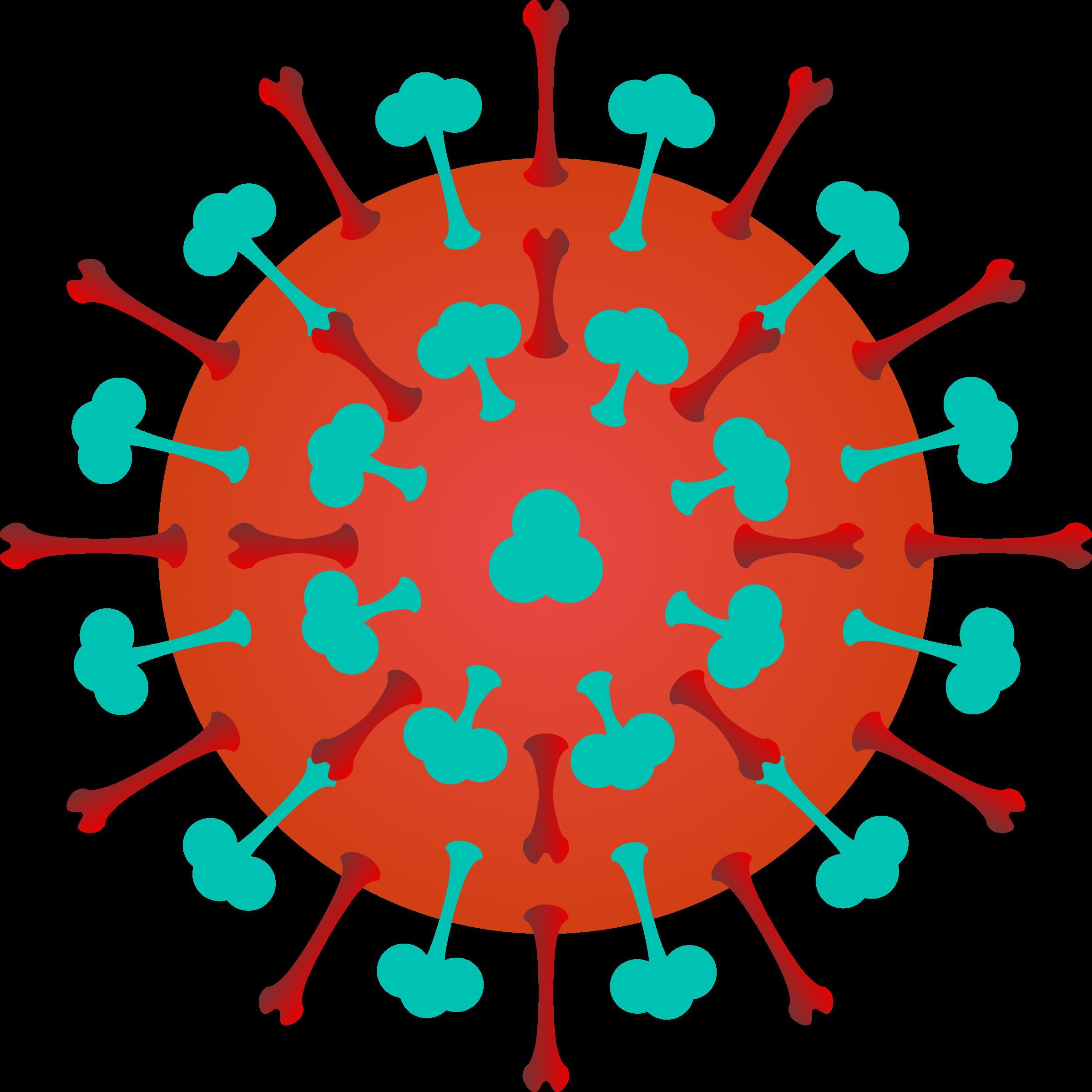 2400x2400 Bacteria Clipart Flu Virus
