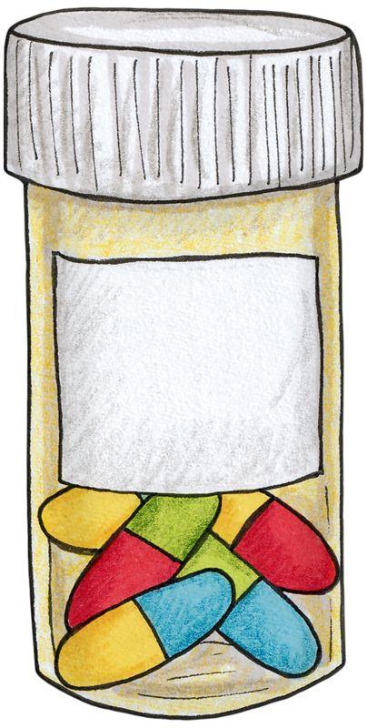 Vitamins Clipart