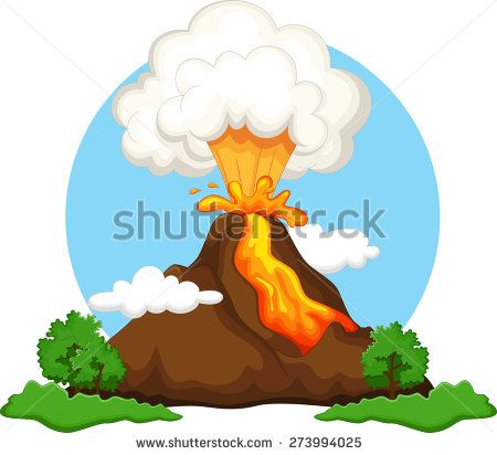 Volcano Animated