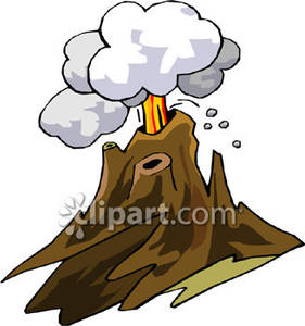 281x300 Volcanic Eruption Clipart