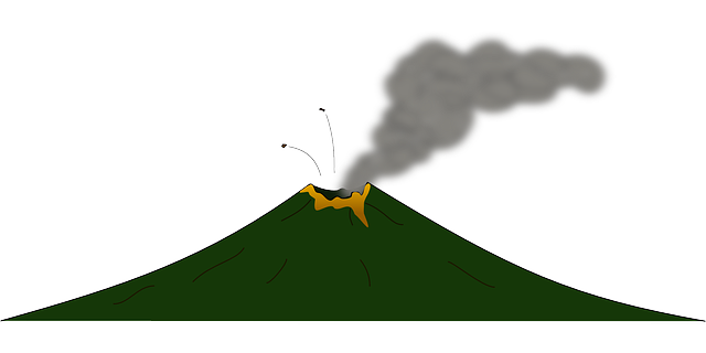 640x320 Animated Volcano Clipart Clipart Kid