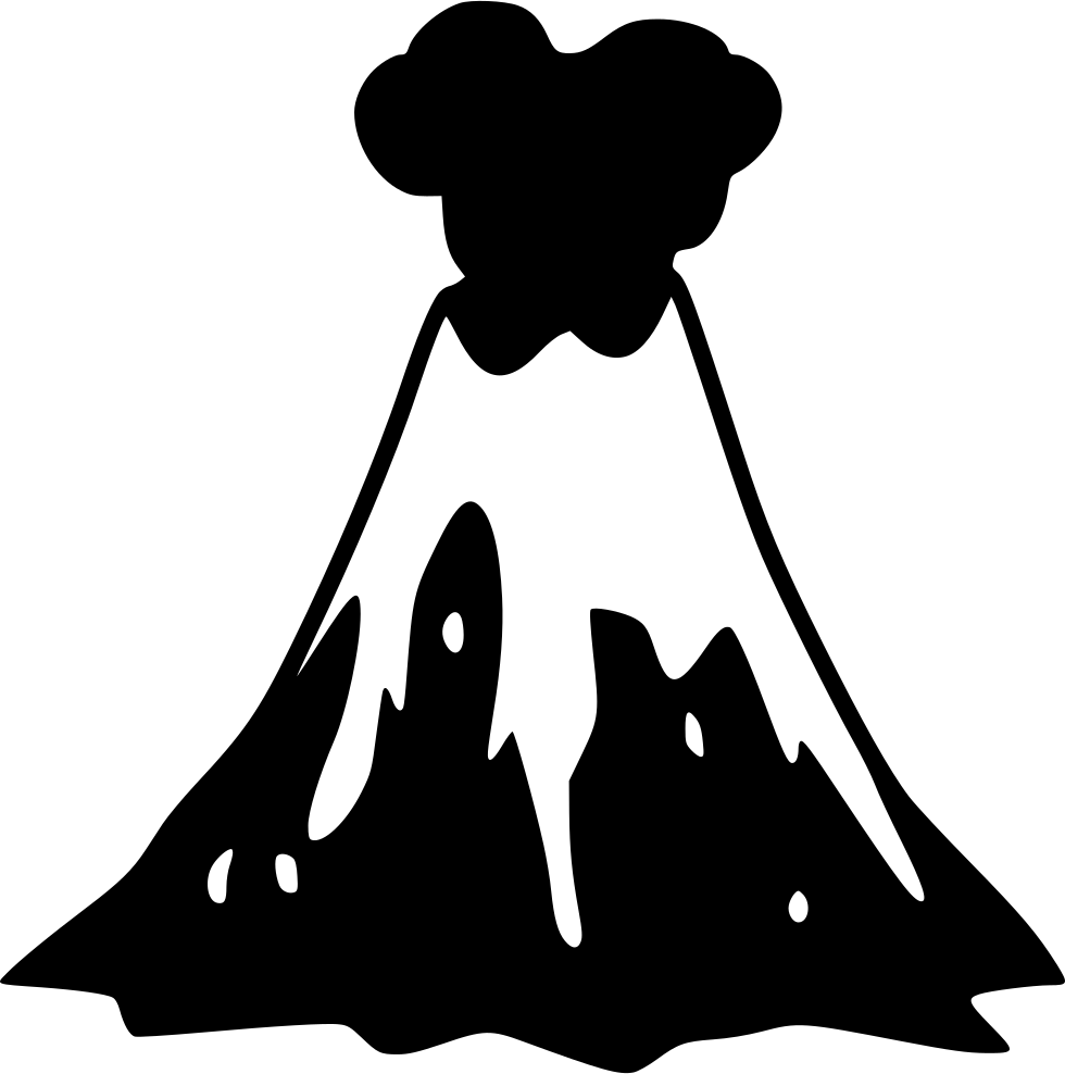 980x988 Volcano Svg Png Icon Free Download ( 548299)
