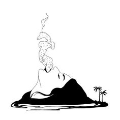 236x236 Pele, The Goddess Of Volcanoes, For A Late Sketch Dailies Tattoo