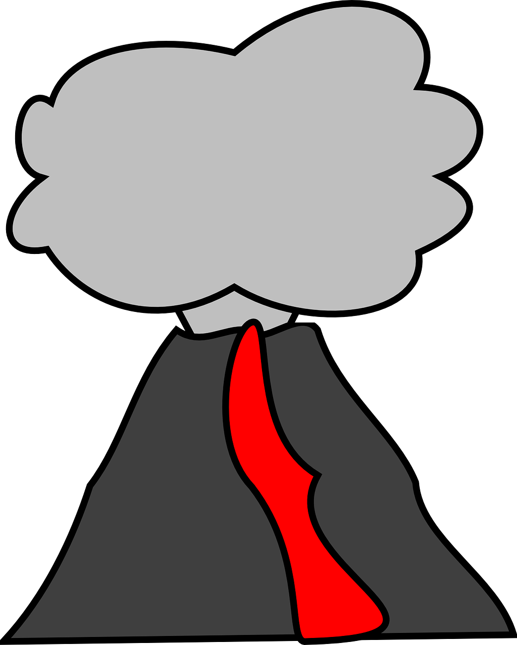 1026x1280 Eruption Clipart Volcano