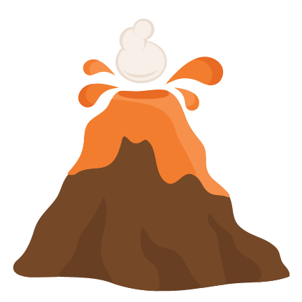 432x432 Volcano clip art image
