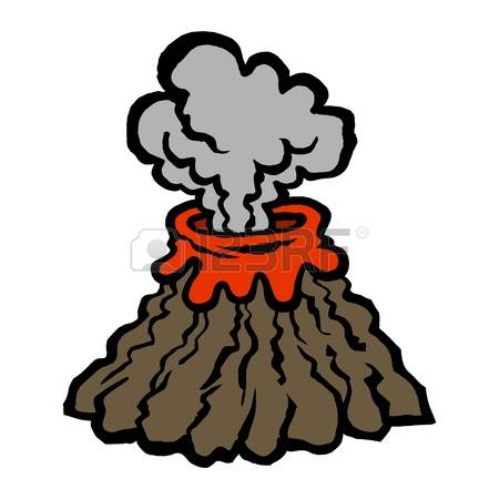 450x450 Volcano Clipart Cloud