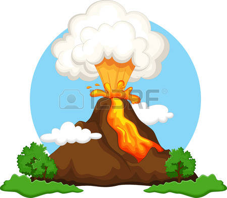 450x392 Volcano Clipart Eruption