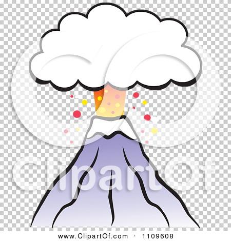 450x470 Volcano Clip Art