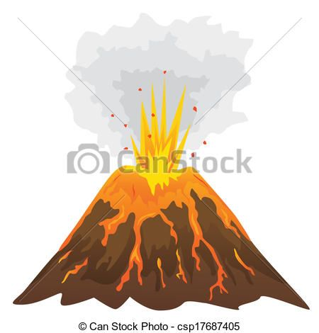 450x470 Volcano Clip Art Archives