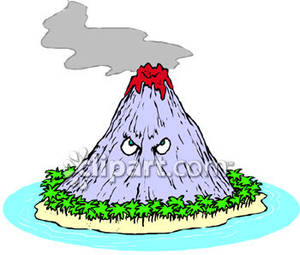 300x255 Island with a Volcano