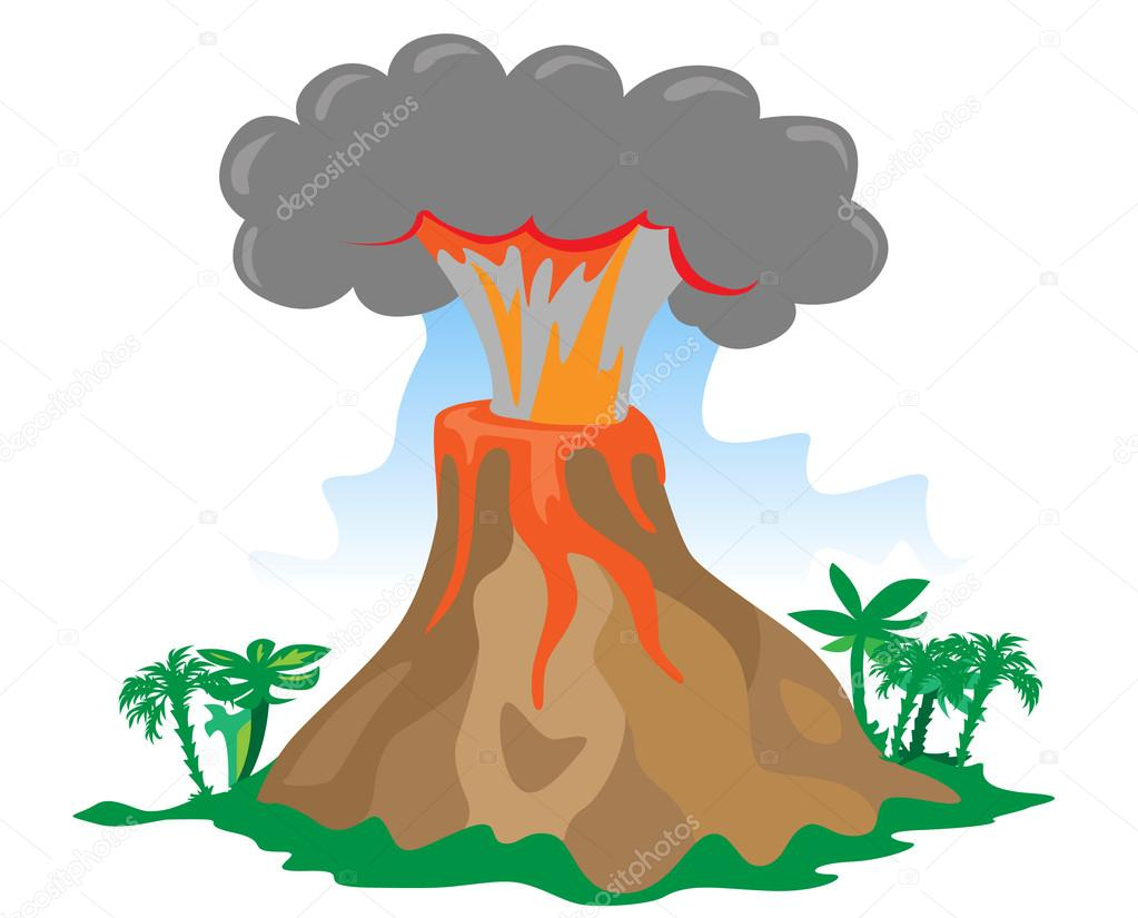 Volcano Clipart Free | Free download on ClipArtMag