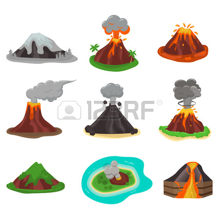 450x450 Volcano Clipart Geology