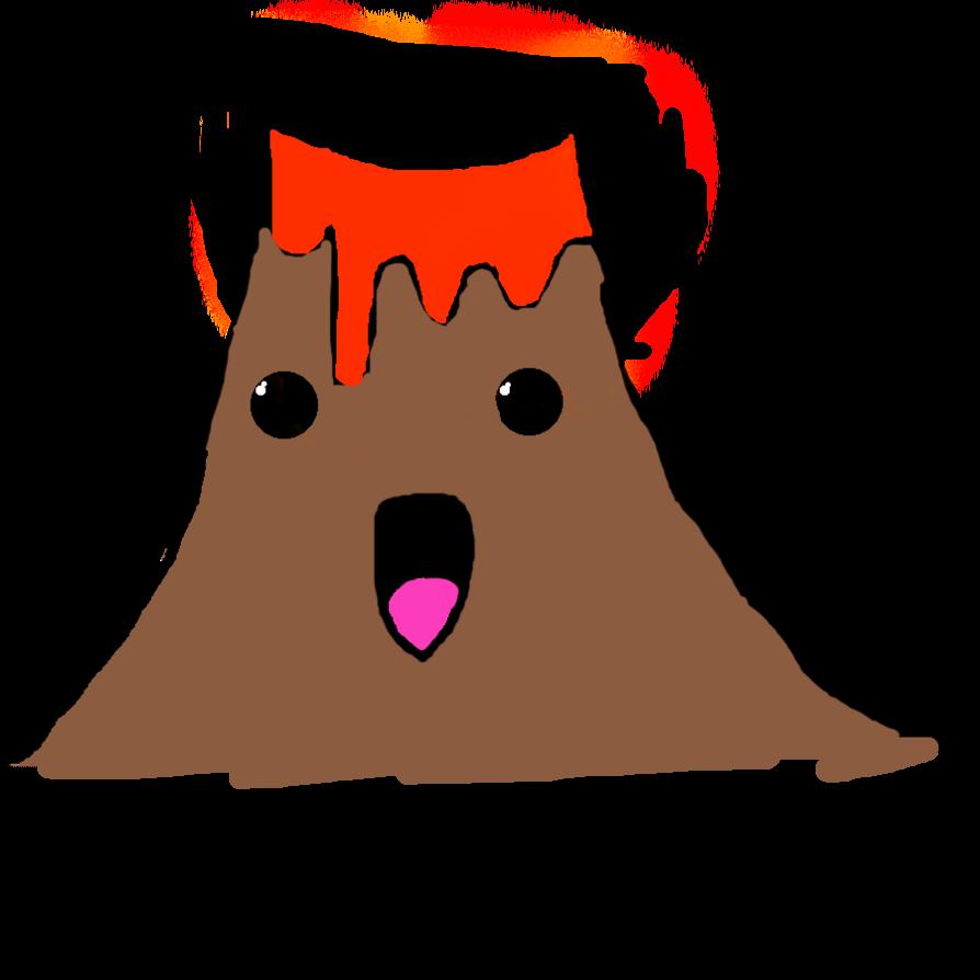894x894 Omfg Kawaii Volcano Desu By Jawwenthevampire
