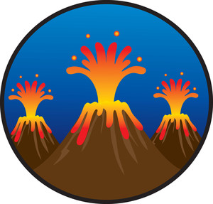 300x287 Volcano Clipart Animations Free Images