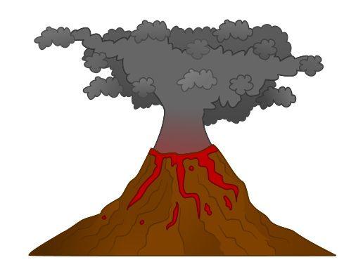 516x390 The Best Volcano Cartoon Ideas Gravity Falls