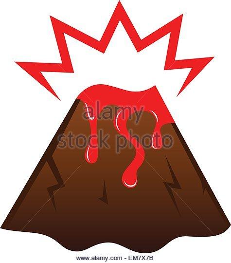 475x540 Volcano Stock Vector Images