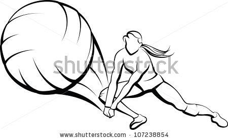 450x276 Clip Art Volleyball Chadholtz
