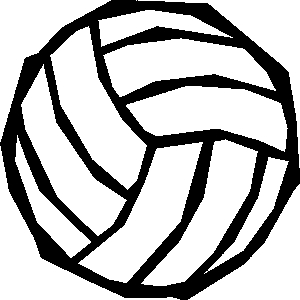 300x300 Animated Volleyball Clip Art Free Danaalcf Top 2