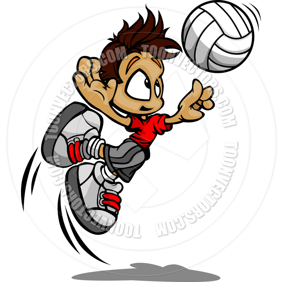 Volleyball Cartoon Clipart Free Download Best Volleyball
