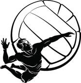167x170 Top 71 Volleyball Clip Art