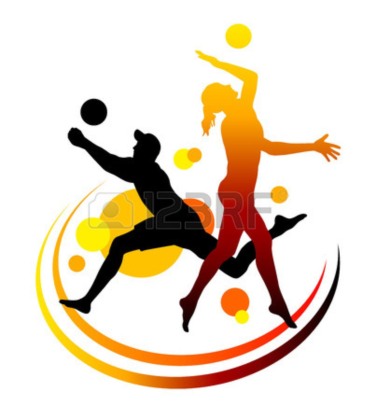 1209x1350 Volleyball Backgrounds Clipart