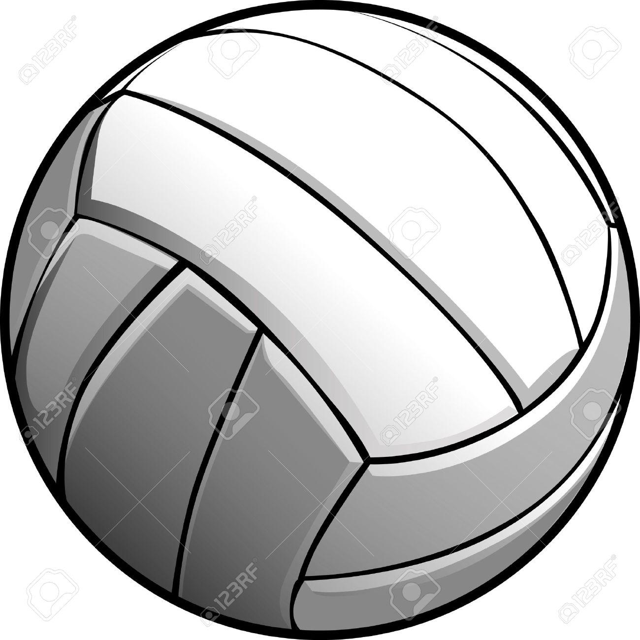 1300x1300 Ballon De Volleyball Clipart