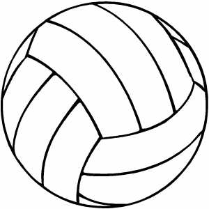 graphic relating to Volleyball Printable identify Volleyball Coloring Webpages Totally free down load suitable Volleyball