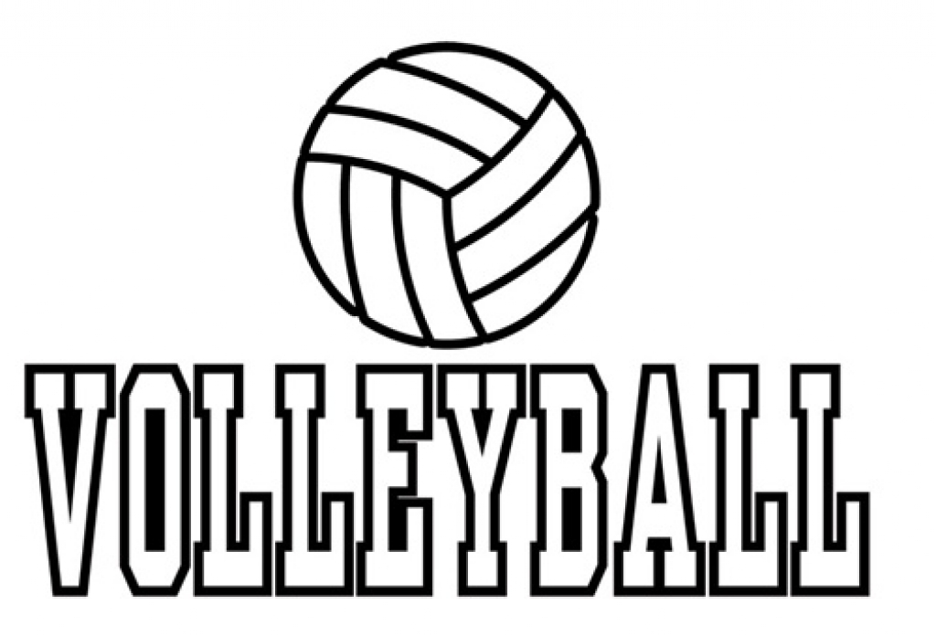 Volleyball Coloring Pages Free