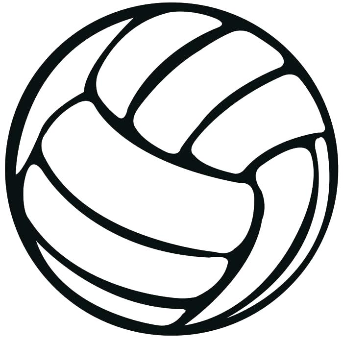 volleyball net coloring pages - photo#33