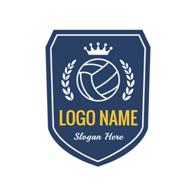 284x284 Free Volleyball Logo Designs Designevo Logo Maker