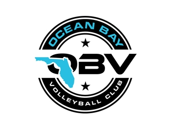 330x250 Ocean Bay Volleyball Club Logo Design
