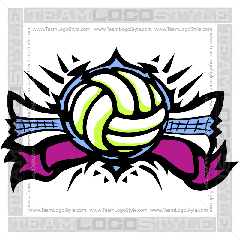 800x800 Volleyball Logo