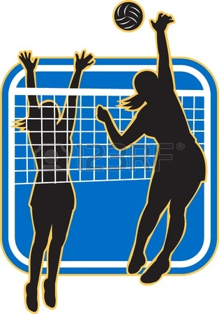 Volleyball Net Clipart