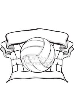 250x375 95 Best Volleyball Designs Images Banners, Coaching