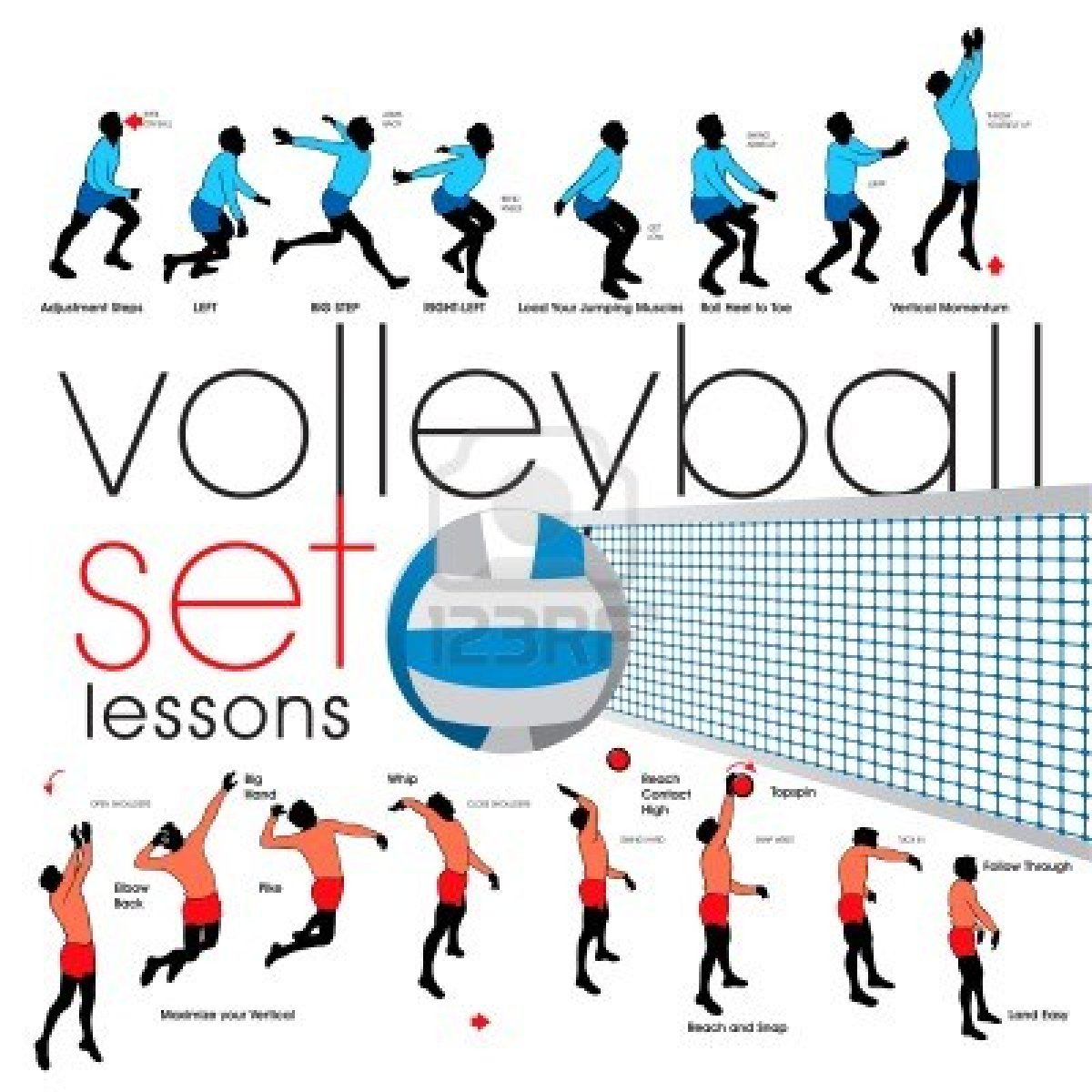 1200x1200 Sport Volleyball Word Clipart
