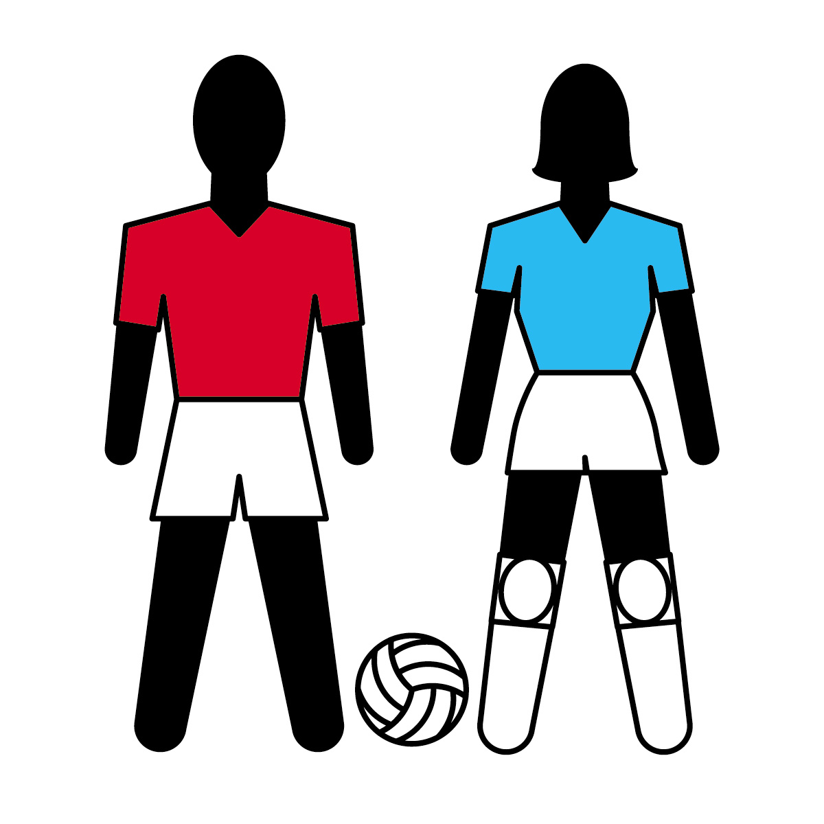 1200x1200 Best Volleyball Player Clipart