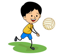 210x187 Clip Art Volleyball Suits Cliparts