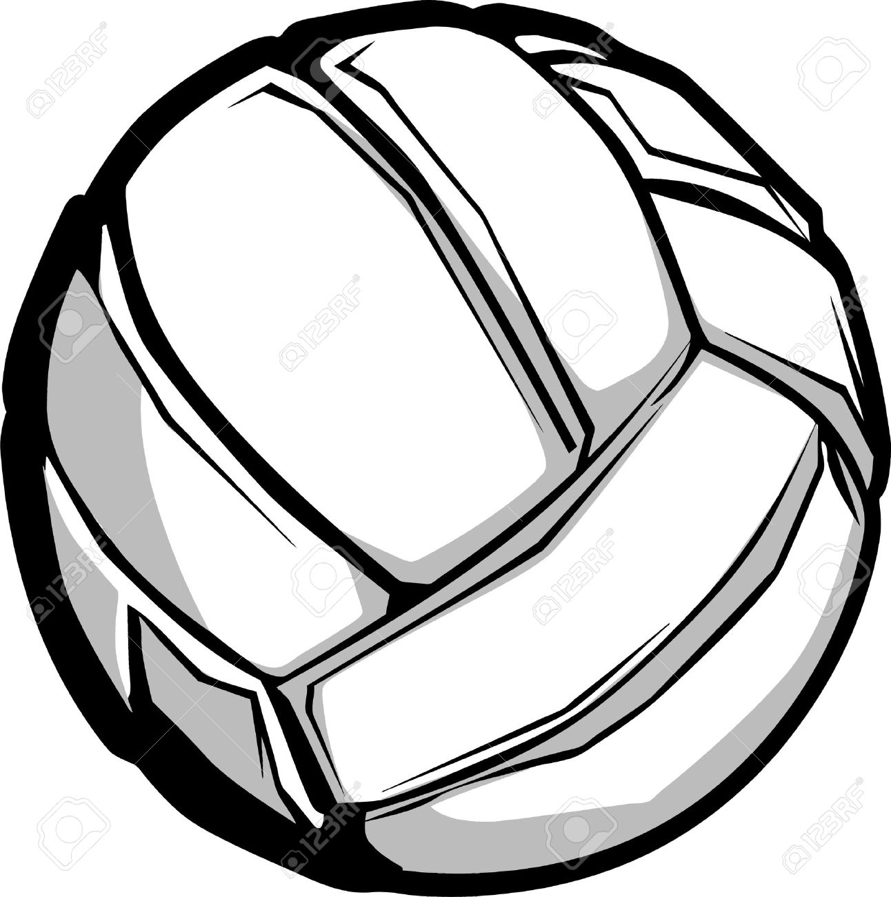 Volleyballs Clipart