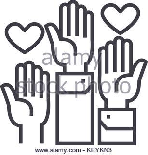 307x320 People Vote Icon Image Design, Vector Illustration Stock Vector