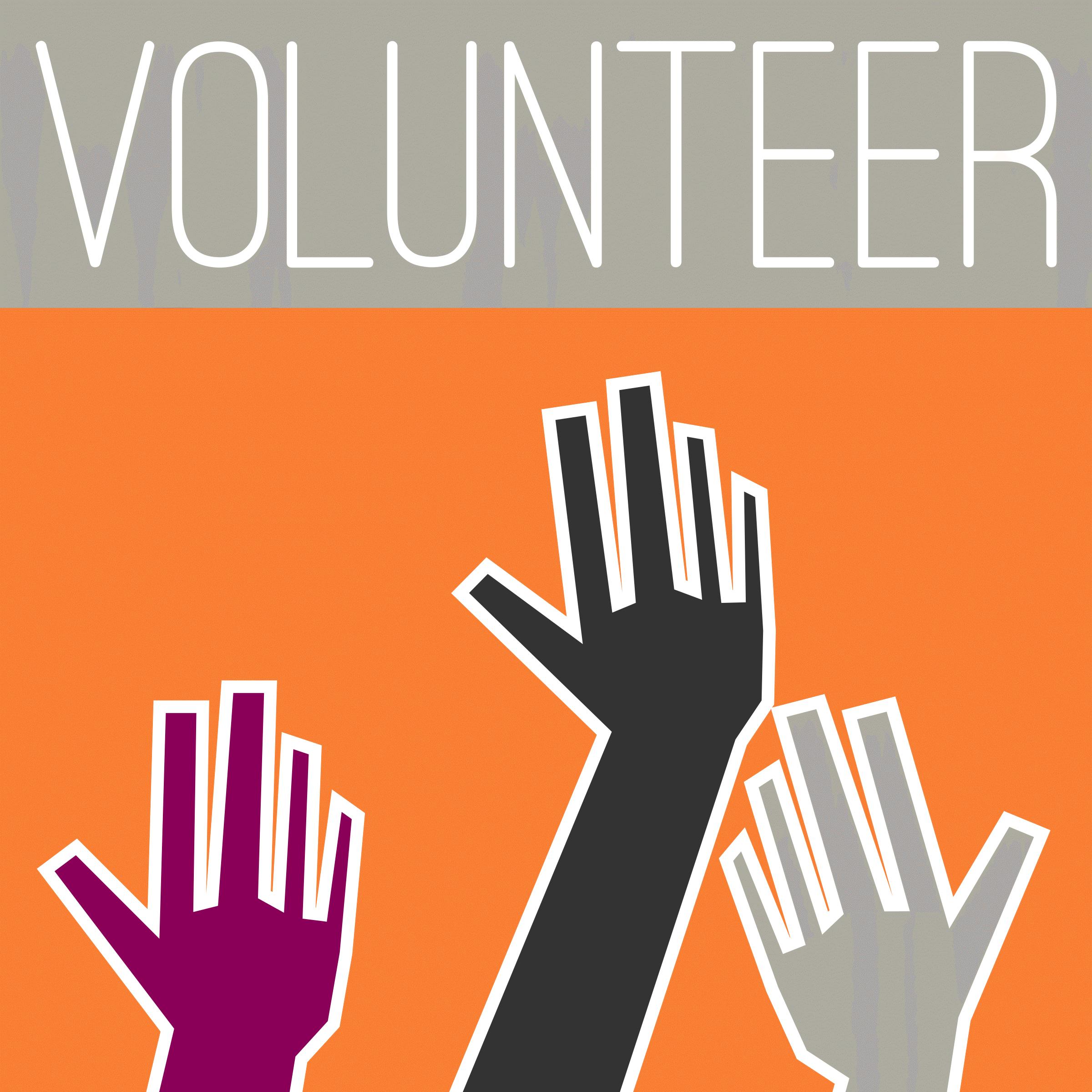 2400x2400 Volunteer Word Cliparts 272483